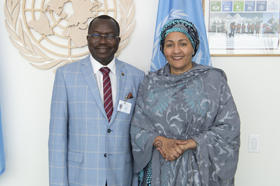 Deputy Secretary-General Meets Minister of Economy, Finances and Development of Burkina Faso