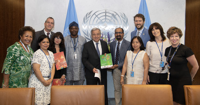 Secretary-General Meets Group of Civil Society Organizations Leaders