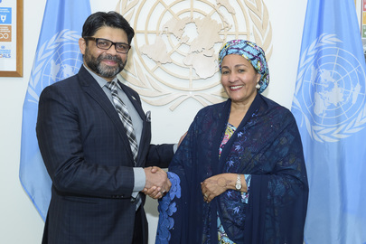 Deputy Secretary-General Meets Minister for Economy and Climate Change of Fiji