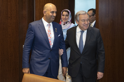Secretary-General Meets Minister of Commerce and Industry of Oman