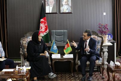 Deputy Secretary-General Visits Afghanistan