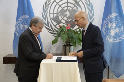Secretary-General Swears in Assistant Secretary-General for Strategic Coordination