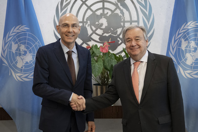 Secretary-General Swears in Assistant Secretary-General for Strategic Coordination