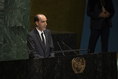 General Assembly Pays Tribute to Late President of Tunisia