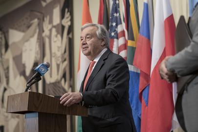 Secretary-General Briefs Press on Climate Change