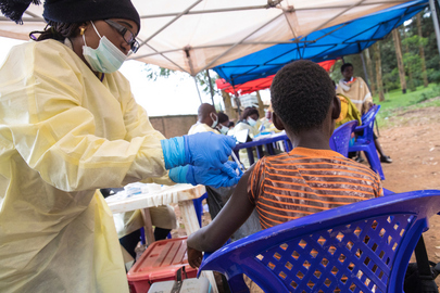 Vaccination Against Ebola of Residents in Butembo