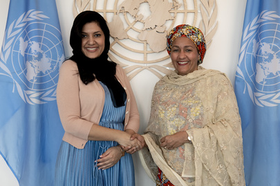 Deputy Secretary-General Meets Princess of Saudi Arabia