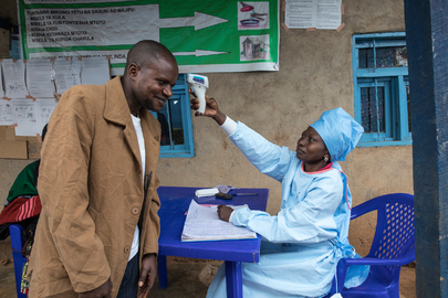 Ring Vaccination at Kivika Health Centre in North Kivu