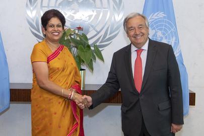 New Permanent Representative of Sri Lanka Presents Credentials