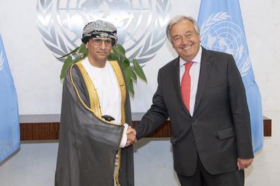 New Permanent Representative of Oman Presents Credentials