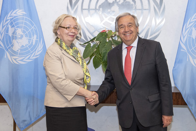 Secretary-General Meets Director-General of UN Office at Geneva