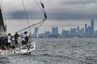 Climate Activist Greta Thunberg Arrives in New York by Sailboat