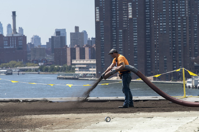 Installation of Green Roof on UN Headquarters
