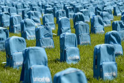 UNICEF Installation Show Scale of Child Deaths in Conflict in 2018