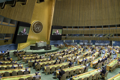 General Assembly Meets on New Partnership for Africa's Development