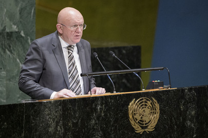 President of Security Council Presents Report to General Assembly