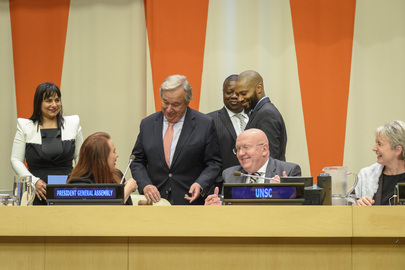 Dialogue of Presidents of General Assembly, ECOSOC, and Security Council, with Secretary-General