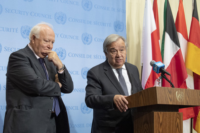 Press Encounter with Secretary-General and High Representative for UN Alliance of Civilizations