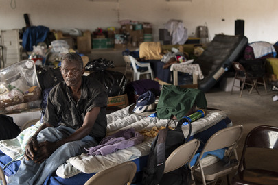 Church Serves as Shelter on Abaco Island, Bahamas, after Hurricane Dorian