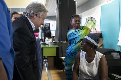 Secretary-General Visits The Bahamas
