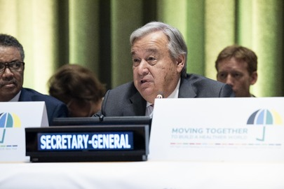 High-level Meeting on Universal Health Coverage