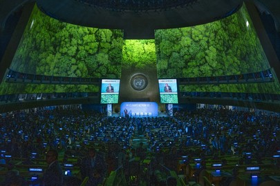 Opening of UN Climate Action Summit 2019