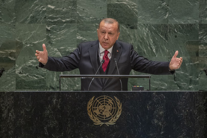 President of Turkey Addresses General Assembly