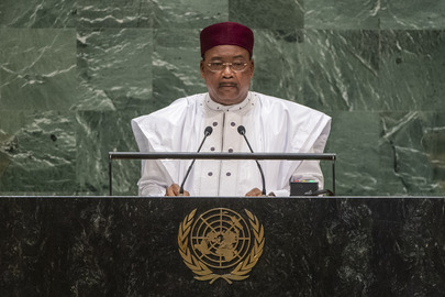 President of Niger Addresses General Assembly