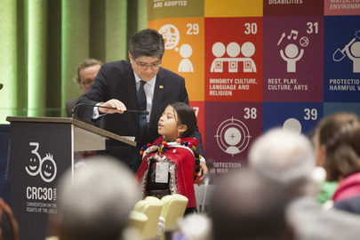 Commemoration of 30th Anniversary of Adoption of Convention on Rights of Child