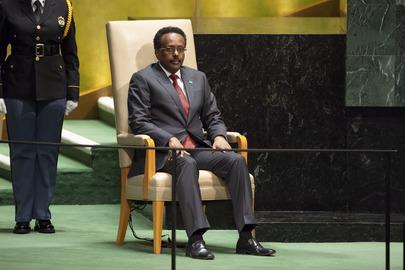 President of Somalia Addresses General Assembly