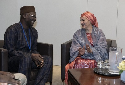 Deputy Secretary-General Meets Governor of Nasarawa