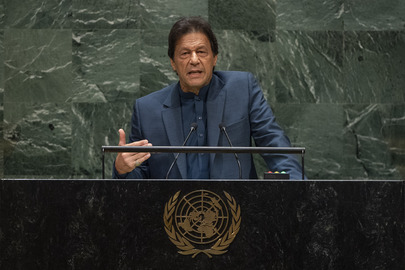 Prime Minister of Pakistan Addresses General Assembly