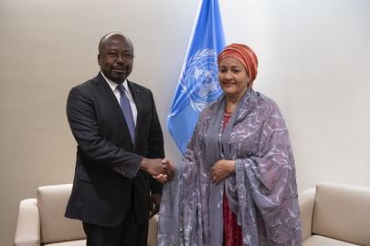 Deputy Secretary-General Meets President of Gabon