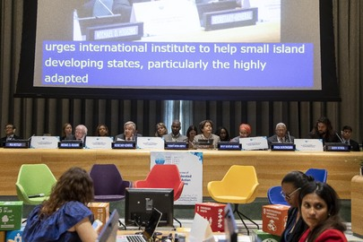 Secretary-General Addresses High-level Meeting on the Implementation of the Accelerated Modalities of Action (SAMOA)