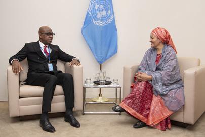 Deputy Secretary-General Meets Governor of Ogun State, Nigeria