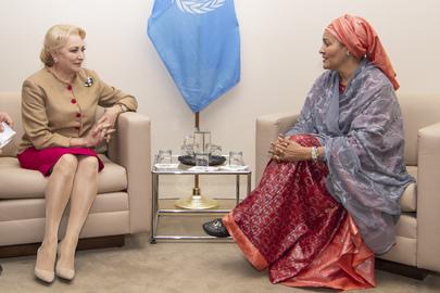Deputy Secretary-General Meets Prime Minister of Romania