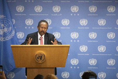 Prime Minister of Sudan Holds Press Briefing