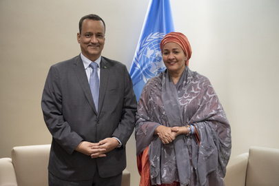 Deputy Secretary-General Meets Minister for Foreign Affairs of Mauritania