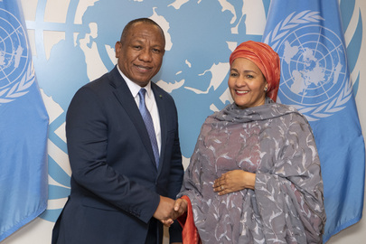 Deputy Secretary-General Meets Prime Minister of Madagascar