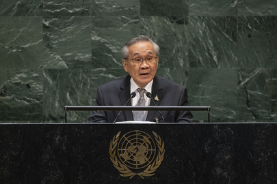 Foreign Minister of Thailand Addresses General Assembly