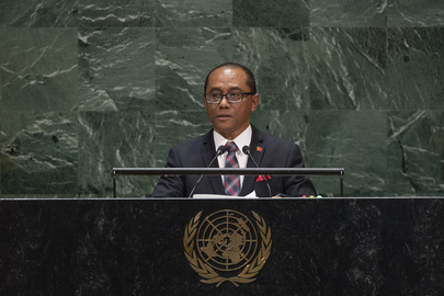 Foreign Minister of Timor-Leste Addresses General Assembly