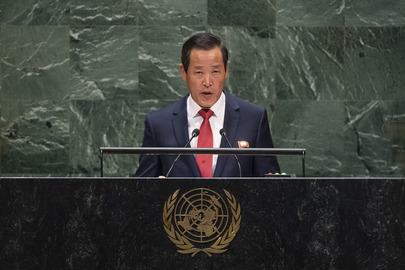Chair of Delegation of Democratic People's Republic of Korea Addresses General Assembly
