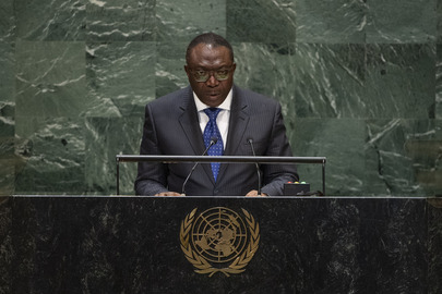 Chair of Delegation of Togo Addresses General Assembly