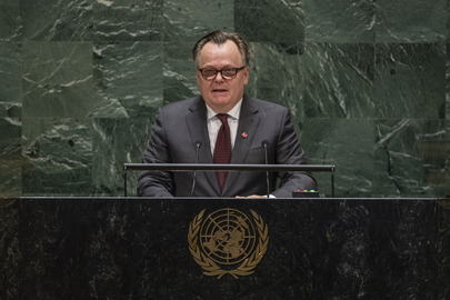 Chair of Delegation of Canada Addresses General Assembly
