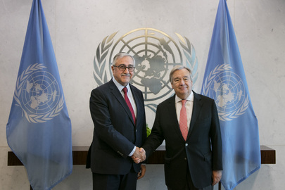 Secretary-General Meets Leader of Turkish Cypriot Community
