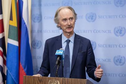 Special Envoy of Secretary-General for Syria Briefs Press