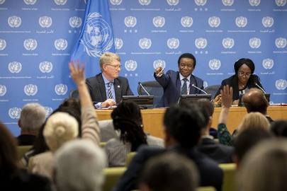 Press Briefing by Security Council President