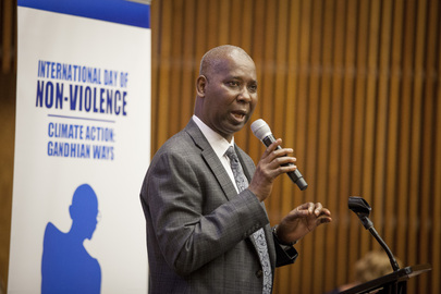 Event on International Day of Non-Violence