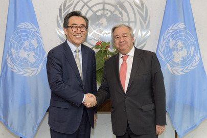 Farewell Call by Permanent Representative of Republic of Korea