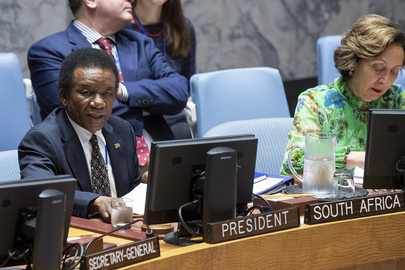 Security Council Meets on DR Congo